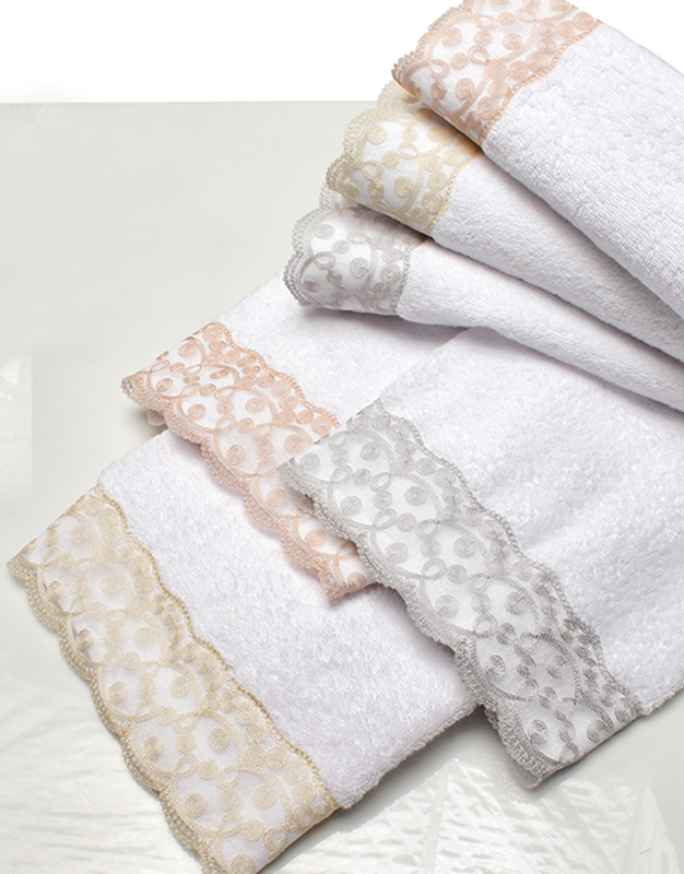 Italian made bath towels